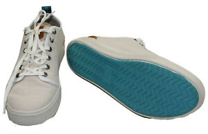 TOMS Travel Lite Solid Color Canvas Lace Up Men's Casual Sneakers NIB Birch
