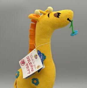 "Giraffe Plush Toy Dream Pets ""Gypsy"" Dakin Repro Stuffed Animal Born 1969"