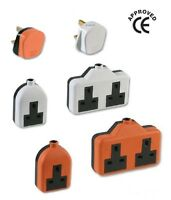 High Impact Extension Lead Sockets Single & Double Heavy Duty Electrical Outlet