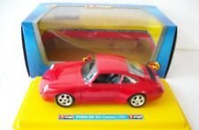 PORSCHE 911 CARRERA ROSSA SCALA 1:24 BBURAGO MADE IN ITALY