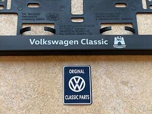 Brand New Genuine Licence plate holder 'Volkswagen Classic'