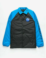 Vans x NASA Space Torrey Padded MTE Black Space Blue Jacket New Men VN0A3HXZWU6