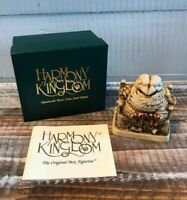 "Harmony Kingdom Treasure Jest ""Beak To Beak"" 1995 Rare With Box Retired"