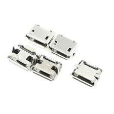 5 pezzi Connettore femmina USB Micro-B 5 pin SMT Porta di montaggio PCB E3W9