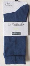 MI CHAUSSETTES LE BOURGET - LES NATURELS - NUIT MARINE - TAILLE 39-42 - NEUF *