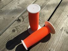 A'ME Unitron Grips RED BLUE Bubble Font Reissue BMX Made in USA F2