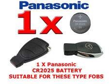 1 X PANASONIC BATTERY FOR MERCEDES CL CLK E G GL Cl CLASS REMOTE KEY FOB CR2025