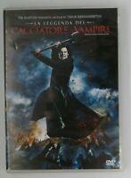 La leggenda del Cacciatore di Vampiri DVD Tim Burton Timur Bekmambetov Film