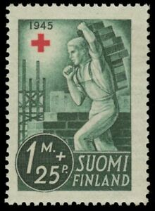 "FINLAND B65 (Mi291) - National Red Cross Fund ""Mason"" (pa65838)"