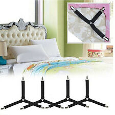 Triangle Suspender Holder Bed Mattress Sheet Straps Clips * PinzasUPHW