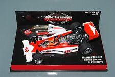 Minichamps F1 1/43 McLaren Ford MP23 British GP 1977 Gilles Villeneuve