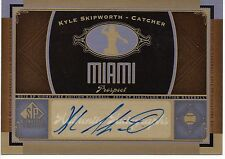 2012 SP Signature Edition Baseball Autograph - Kyle Skipworth