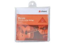 Cuerda Guitarra Acústica Cuerdas Bronce WG1253 85/15 luz de la herida. 012 - .053