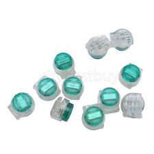 100pcs Wire Splice Terminal Connector K5 Ug 2 Green For Telephone Telecom Cable