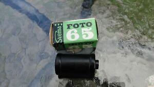 Vintage Soviet USSR Russian B&W Negative Film Svema + Reusable Metal Cartridge