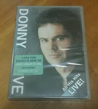 Donny Osmond Live (DVD, 2004) London's Hammersmith Apollo music concert NEW