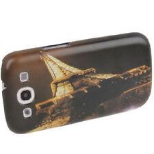Estuche duro para Samsung i9300 Galaxy s3, torre eiffel en la noche Funda Estuche móvil
