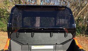 "XTREME RACING POLARIS RZR 900 3/16"" DARK SMOKE TINT REAR PANEL WINDSHIELD KIT"