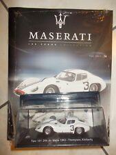MASERATI-100 YEARS COLLECTION-TIPO 151/1 24H DU MANS 1962-N.36-GAZZETTA DELLO SP