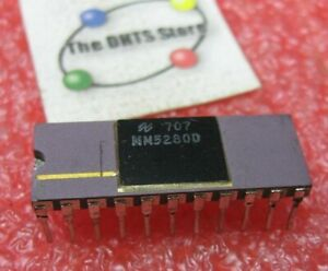 MM5280D National Semiconductor Dynamic RAM 22 Pin DIP Used Pull Qty 1
