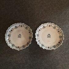 Antique OPCO Syracuse China Bowl Unique Garland Design Set of 2