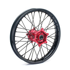 19''  Red Rear Wheel Complete Hub Rim for Honda CRF 250 R 14- 17 CRF450R 13-16