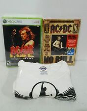 AC/DC Fan Pack Includes Xbox 360 Edition of AC/DC Live Rock Band Track Pack New