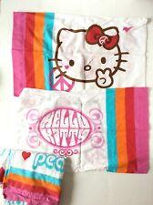 Hello Kitty Full Sheet Set-  Full Flat Sheet + 2 Standard Pillowcases by Sanrio