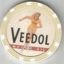 VEEDOL MOTOR OIL & GASOLINE COLLECTOR CHIP