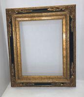 Vintage Gold Gilt Wood Frame Ornate Victorian NO BACK OR GLASS