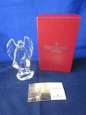 WATERFORD CRYSTAL Nativity Contemporary Angel ~ EXCELLENT STICKER in BOX