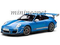 BBURAGO 18-11036 PORSCHE 911 997 GT3 RS 4.0 1/18 DIECAST MODEL CAR BLUE