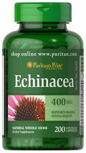 Puritan's Pride Echinacea 400 mg - 200 Capsules