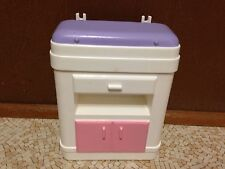 2002 Barbie Doll Happy Family Midge Nursery Changing Table Baby Bed Furniture