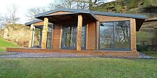 STOMHAUS LOG CABIN/GARDEN OFFICE/STUDIO/GRANNY ANNEX  -  FOOTPRINT = 30 SQ.M
