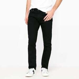 LEVIS 511 Mens Jeans Original Riveted Slim Fit Nightshine Wash Black Denim