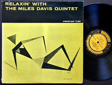 MILES DAVIS Relaxin' LP PRESTIGE PRLP 7129 NJ RVG MONO John Coltrane Red Garland