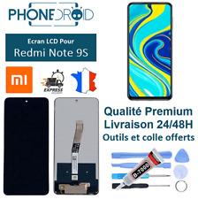 Écran complet LCD + Tactile Xiaomi Redmi Note 9S Black + Outils, stock en France