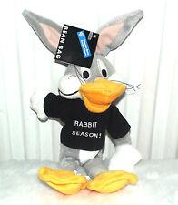 "Bugs Bunny Plush 12"", Warner Bros Bean Bag Stuffed Bugs Bunny-New"
