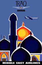 "20x30""Decoration CANVAS.Interior room design art.Travel Iraq Baghdad.6624"