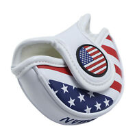 Small Putter Cover USA AMERICA Mallet Mini Headcover For Scotty Cameron Odyssey