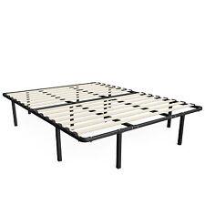 Zinus Bed Frames Sleep Master Wooden Slat Mattress Box Spring Bedroom King Size