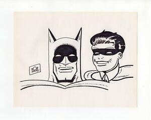 BoB KANE - Ink Drawing - Super Rare