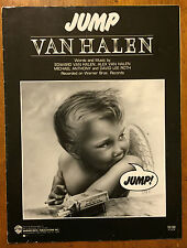 """Van Halen """"Jump"""" music sheet song book 1983"""
