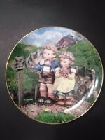 "Danbury Mint M J Hummel  "" Country Crossroads"" Plate"