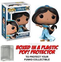 Funko POP! Disney ~ JASMINE (2ND VERSION) VINYL FIGURE w/Protector Case