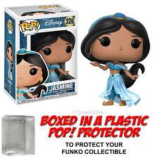 Funko POP! Disney ~ JASMINE (2ND VERSION) VINYL FIGURE w/Protector Case