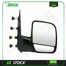 Passenger Side View Manual Mirror RH for 02-08 Ford E150 E250 E350 E450 E550 Van