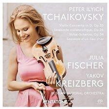 Kreizberg - Violin Concerto in D Op 35 / Serenade Melancolique [New SACD]