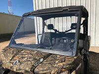 A&S CAN-AM DEFENDER 1/4 POLYCARBONATE FULL WINDSHIELD 2016-2020